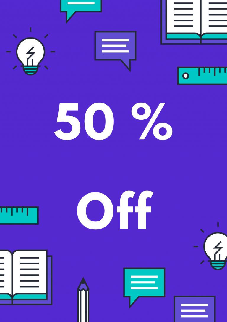 50 Off
