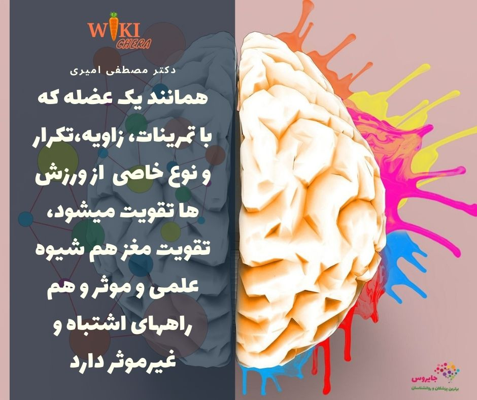 بهبود حافظه آموزش تمرینات حافظه
