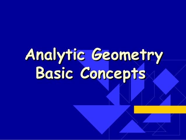 آموزش هندسه تحلیلی پایه دوازدهم